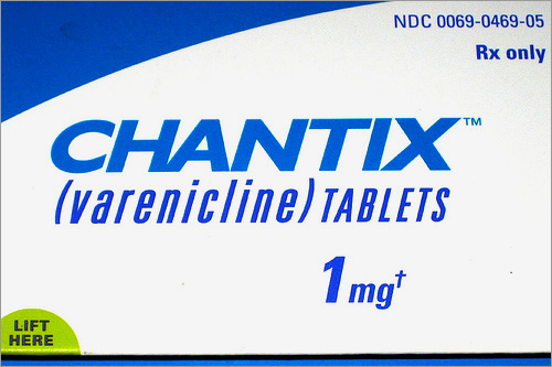 when should i stop smoking with chantix