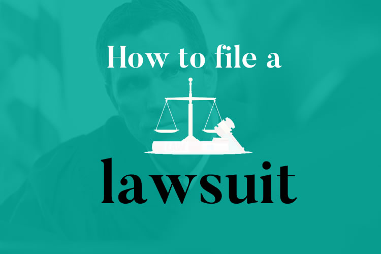 How to file a lawsuit image