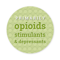 opioids stimulants and depressants are commonly abused