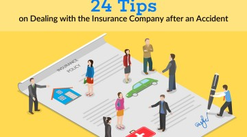 24 tips for dealing with the insurance company after an accident