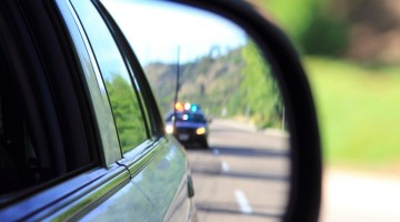 Officer-in-rearview-mirror