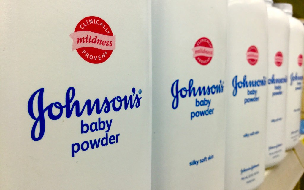 Johnson and Johnson Baby Powder