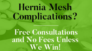 Hernia Mesh Complications Lawyer