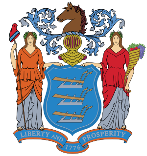 New Jersey Coat of Arms