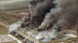 Houston - Deerpark plant explosion